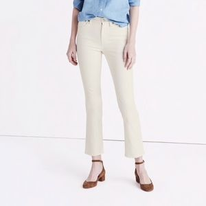Madewell NWT off white highrise jean. Size31